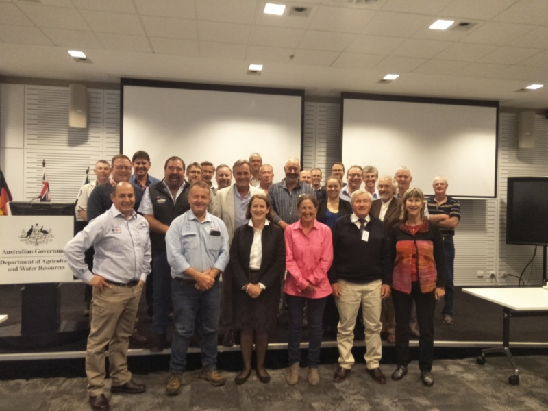The NWDAP Stakeholder Consultation Group & Coordination Committee in Canberra, early May 2019