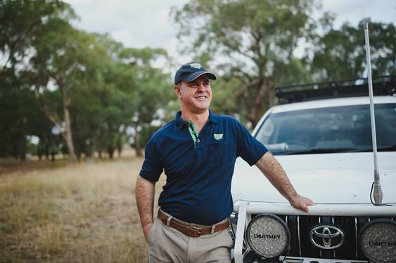 Wild dog community coordinator Bruce Duncan controls an area larger than the UK. To contact Bruce T: 0409 515 471 E: duncanb@nswfarmers.org.au